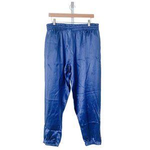 Custom Jogger Pants in Blue